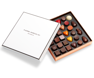 Boxes of chocolates Pierre Marcolini